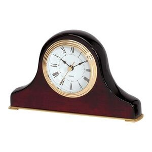Clock - Napoleon Style Piano Wood Finish High Gloss Mantel Desk Clock